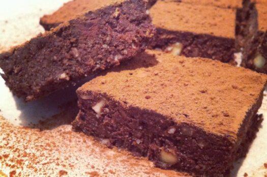 Glutenfri chokolade brownie