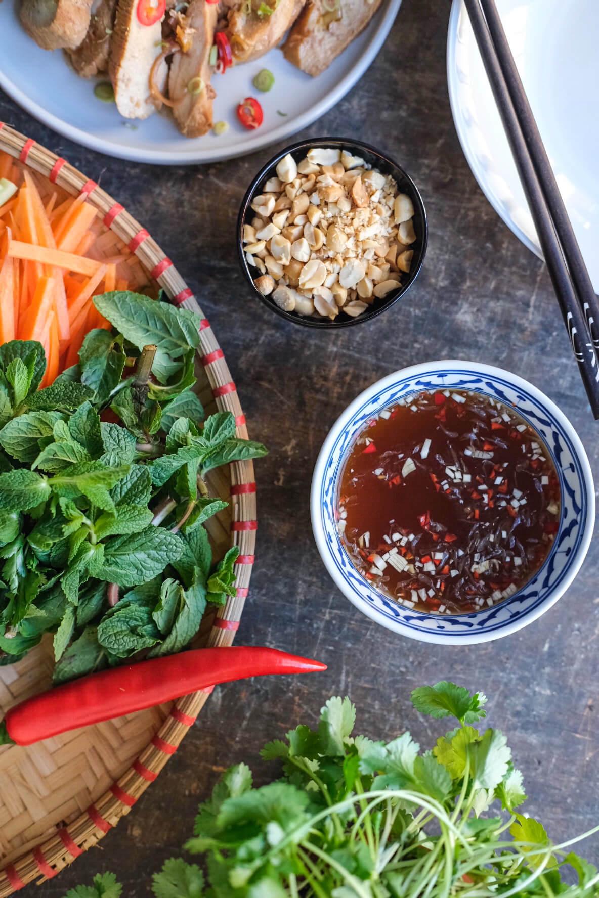 Vietnamesisk nuoc cham sauce