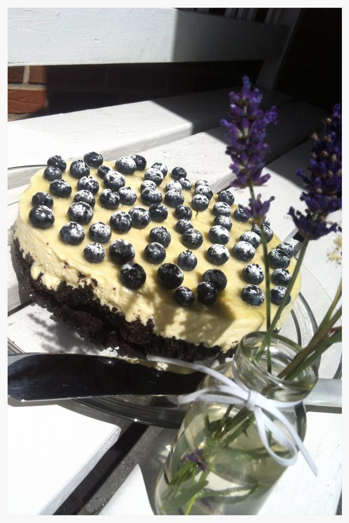 Oreo lime cheesecake med hvid chokolade