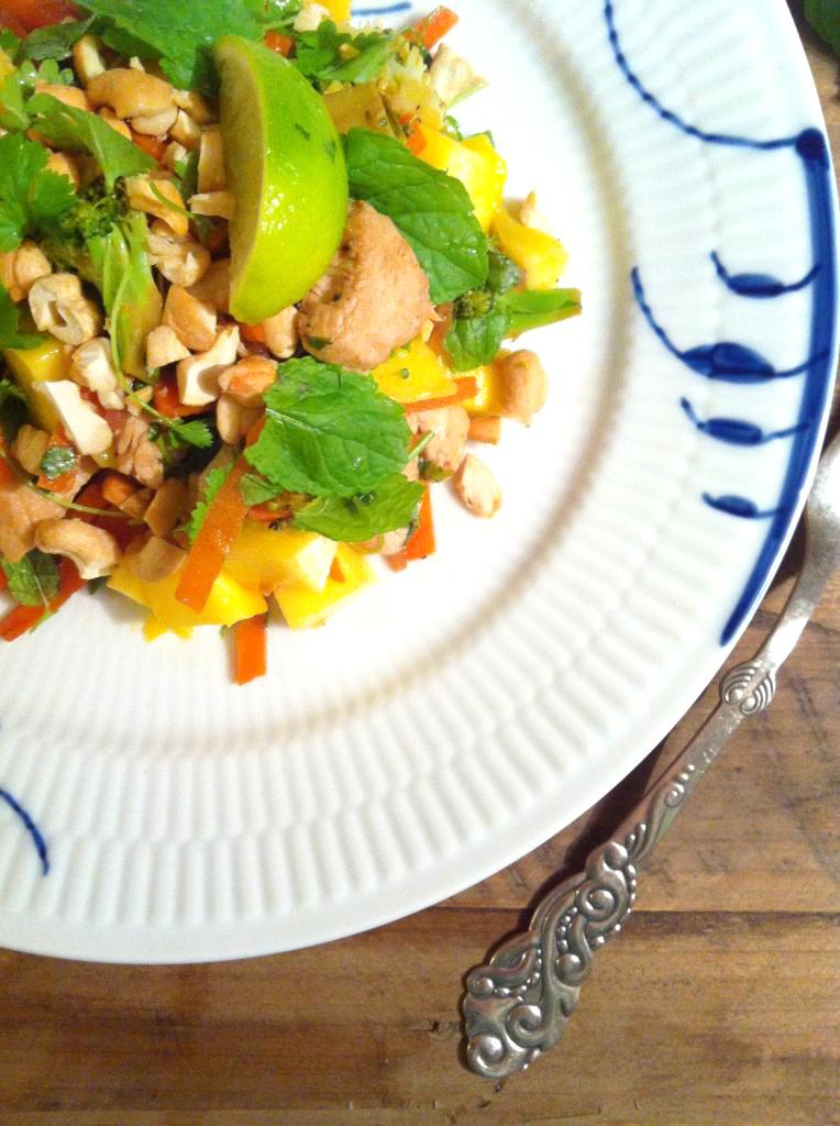 Vietnamesisk kyllingesalat