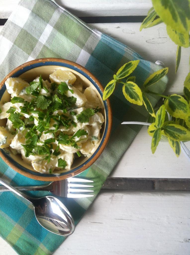 Sund kartoffelsalat med skyr