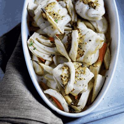 Aarstiderne måltidskasse med fisk