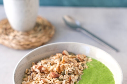 Greenie smoothie bowl