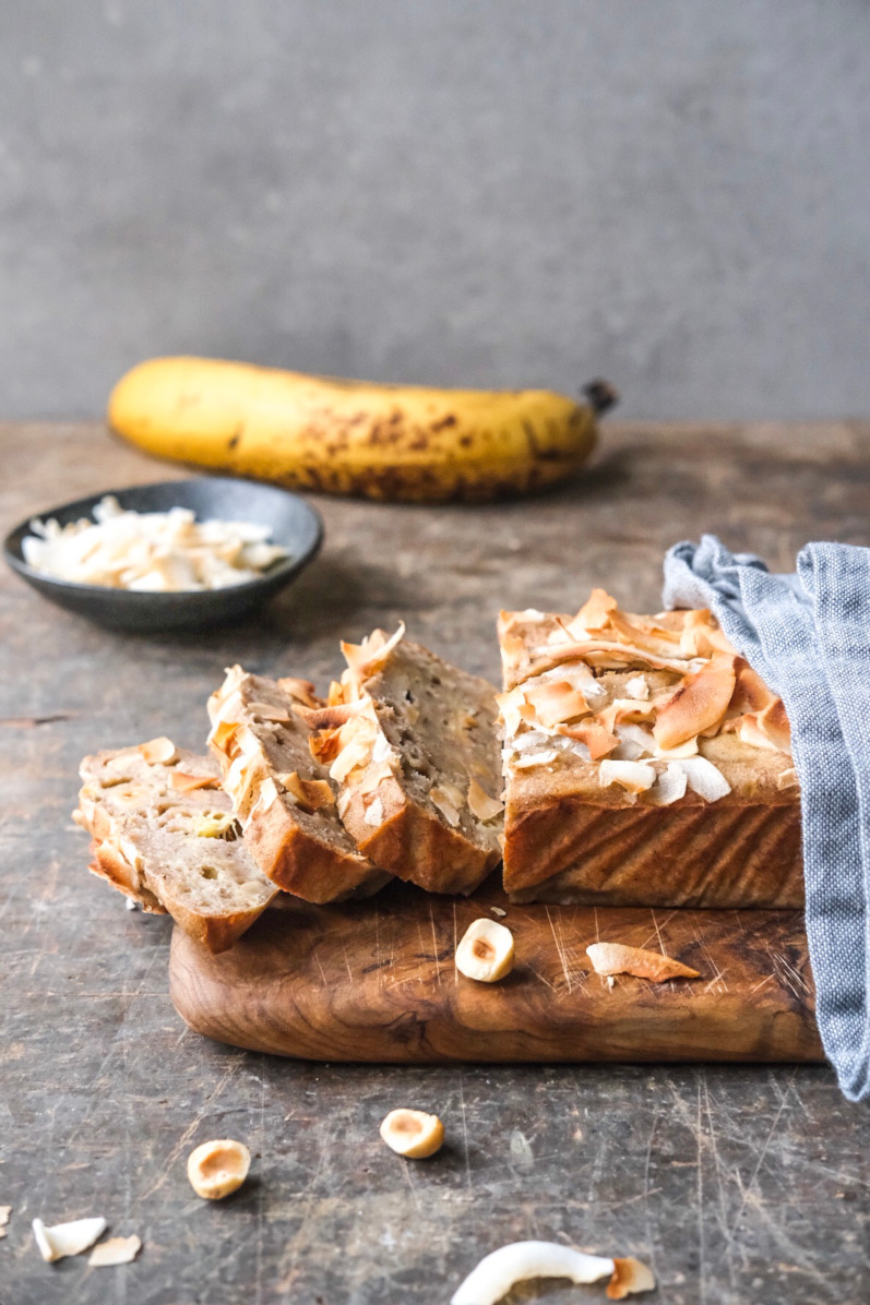 Bananbrød uden smør og sukker