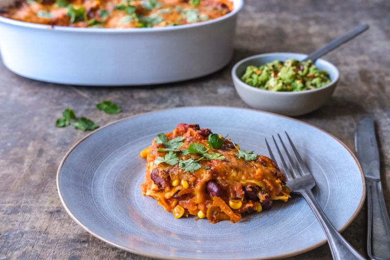 Vegetar lasagne
