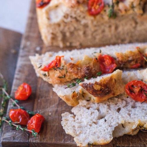 Foccacia brød med surdej