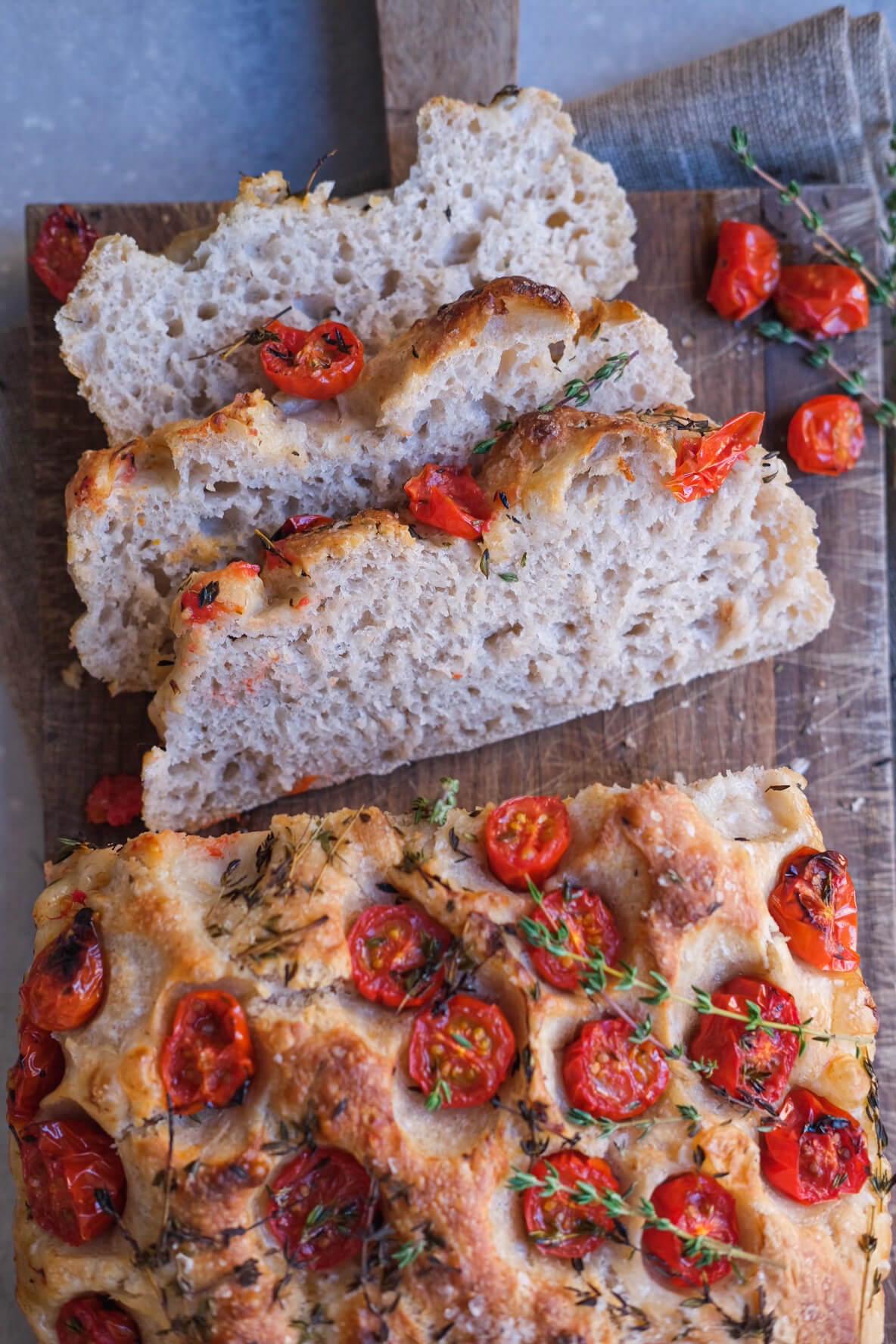 Surdejs foccacia brød