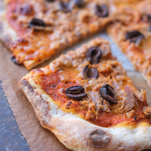 Surdejspizza med tun